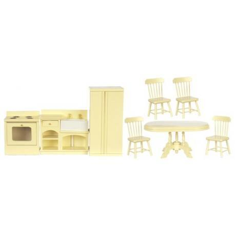 Kitchen Set/8/cream
