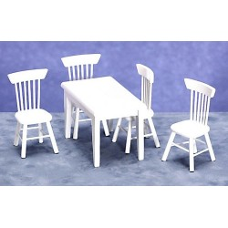 5pc Table/chair Set/w