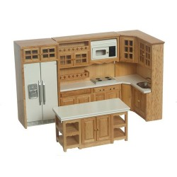 Kitchen Set/8/cb/oak