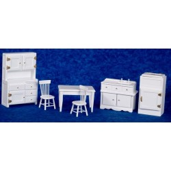 Kitchen Set/6/white/cb