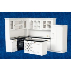 Kitchen Set/4/blk/wht/cb