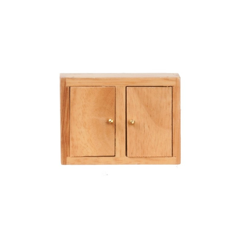 Kitchen wall cabinet oak dollhouse kitchen cabinets for Kitchen wall cabinets