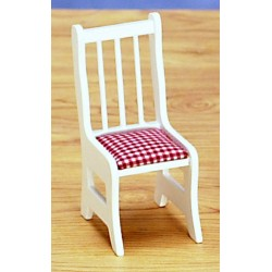 KITCHEN CHAIRS, WHITE