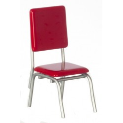 1950's Style Red Chair/cb