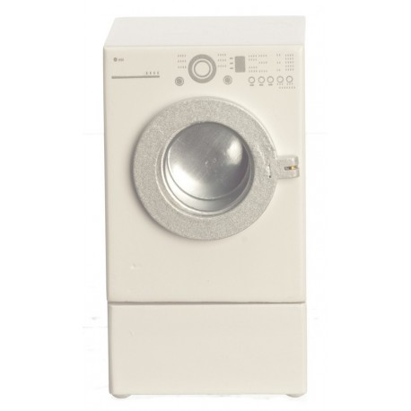 Modern Front Load Dryer/wht