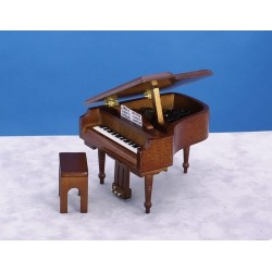 Grand Piano/bench/Walnut