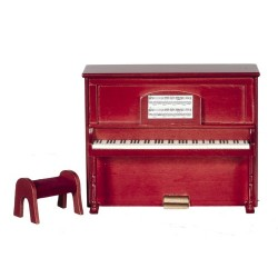 Upright Piano/Mahogany