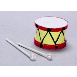 Drum w/sticks/set/3