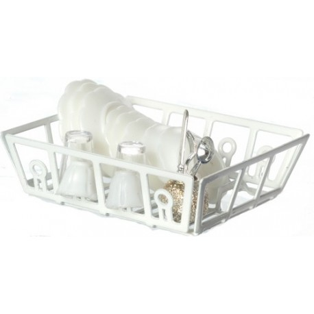 Filled Dish Drainer