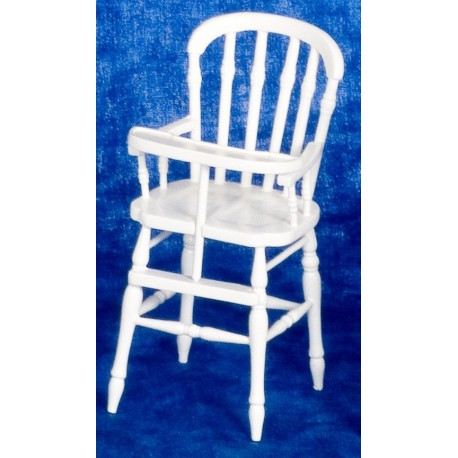 Victorian High Chair/wht