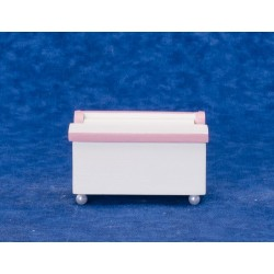 Toychest/white/pink