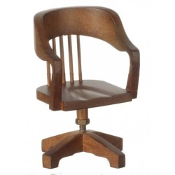Swivel Chair/Walnut