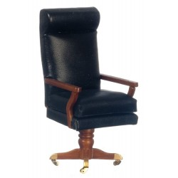 Jfk Desk Chair/Walnut