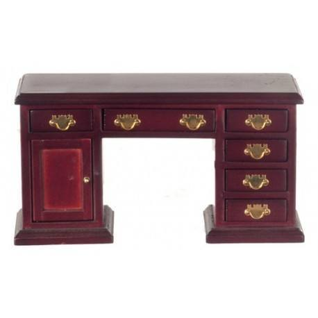 desk mahogany dollhouse office desks superior