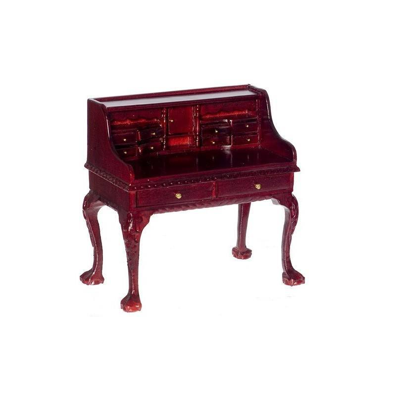 secretary desk mahogany dollhouse office desks