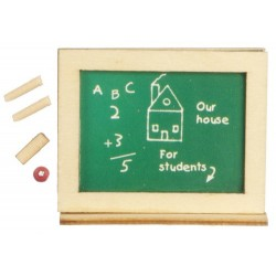 School Chalkboard Set/grn