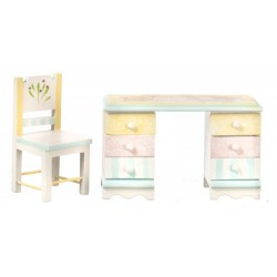 Desk & Chair Set/painted