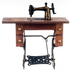 Sewing Machine/Walnut