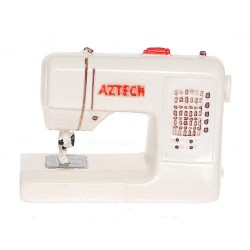 Modern Sewing Machine/wht