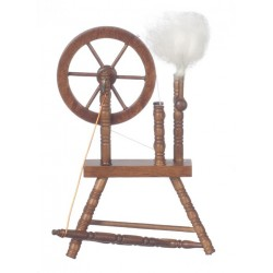 Spinning Wheel/Walnut