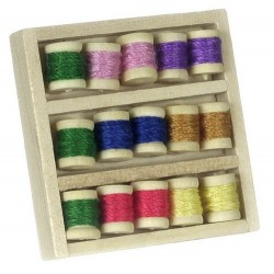 Thread Box Of 15 Spools