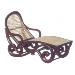 Safari Lounge Chair/Mahogany