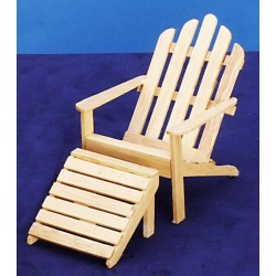 Adirondack Chair/stl/oak
