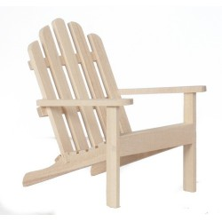 Adirondack Chair/unfin