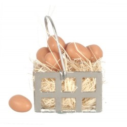 Egg Basket/brown Eggs