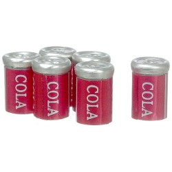 Cola Cans/6pcs