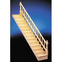 Straight Staircase w/rail