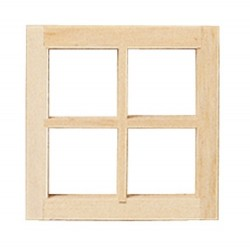 Single 4-light Window