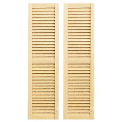 Louvered Shutters/5 5/8in