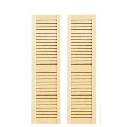 Louvered Shutters/5 3/16