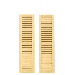 Louvered Shutters/4 5/8in