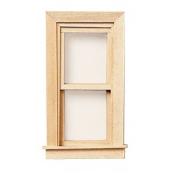 Working Double Hung Attic Window