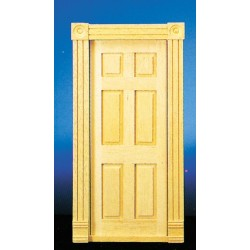 Trad.6-panel Interior Door