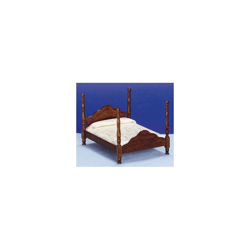 Cannonball Bed Dollhouse Bedroom Furniture Superior