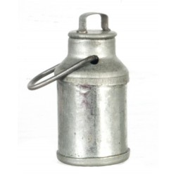 Tin Milk Can w/lid