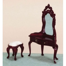 Dressing Table/Stool  Mahogany