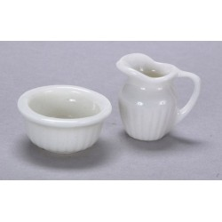 1in Pitcher & Bowl