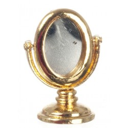Gold Dressing Table Mirr.