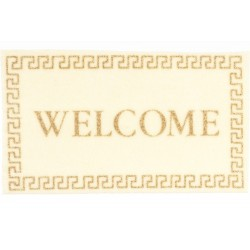 Welcome Mat/ivory