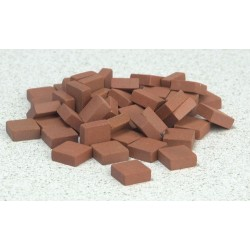 Sq.red Patio Bricks/50