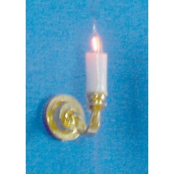 Single-candle Sconce/hs