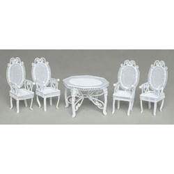 Tea Table Set Of 5/pc