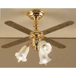 3-tulip Ceiling Fan/12v
