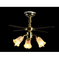 3-tulip Ceiling Fan