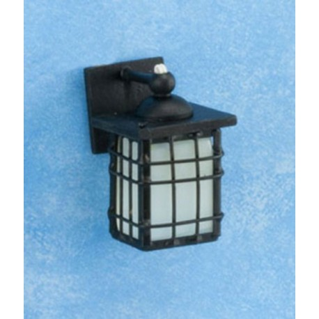 dollhouse-Outdoor-Coach-Lamp-black Wiring Outdoor Lights on blue outdoor lights, metal poles for outdoor lights, lowe's outdoor lamp post lights, low voltage spot lights, moving outdoor lights, low voltage led soffit lights, building outdoor lights, outdoor party lights, ge led christmas lights, glass outdoor lights, security outdoor lights, black and white christmas lights, battery outdoor lights, best outdoor christmas lights, concrete outdoor lights, sensor outdoor lights, 12v outdoor lights,