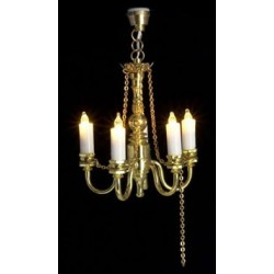 5-Light Chain Chandelier  12V